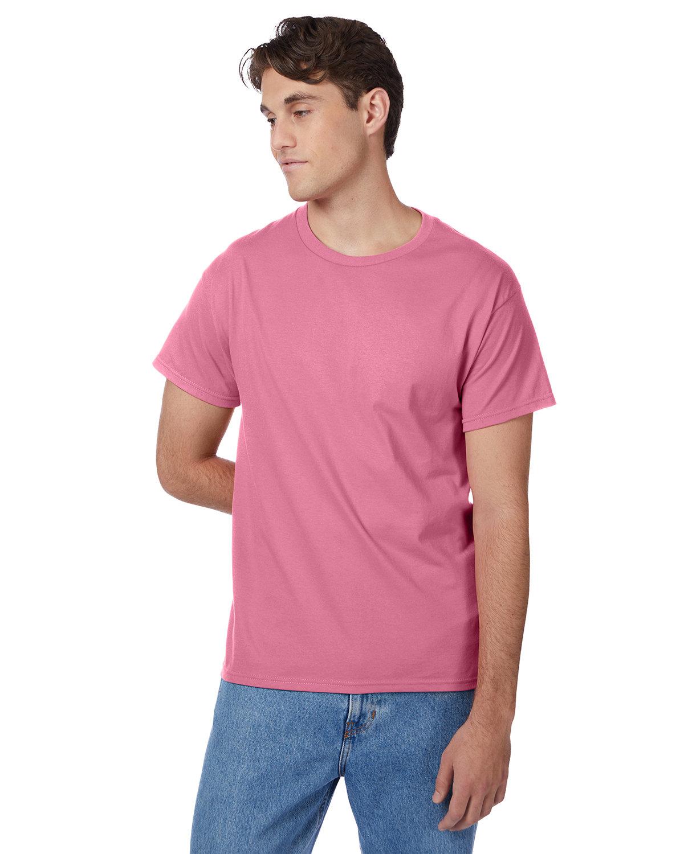 Hanes Men's Authentic-T T-Shirt PINK