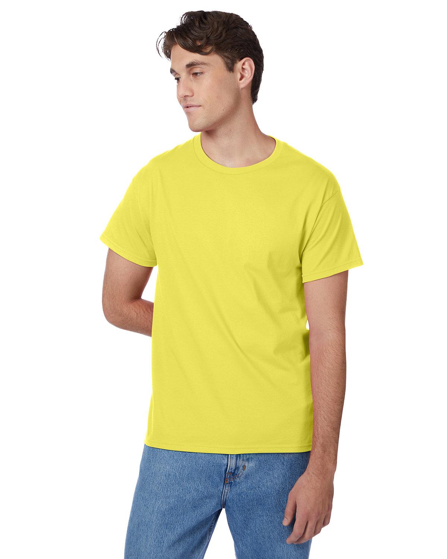 Hanes Men's Authentic-T T-Shirt YELLOW