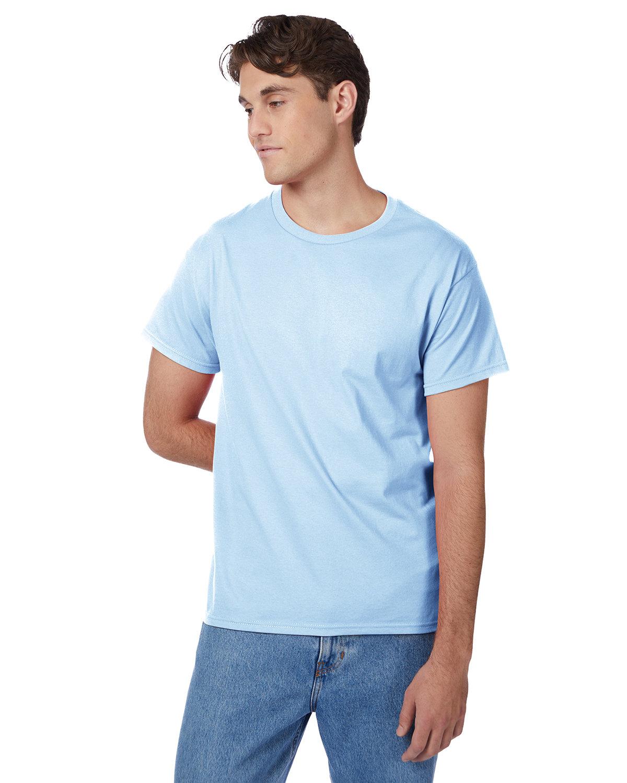 Hanes Men's Authentic-T T-Shirt LIGHT BLUE