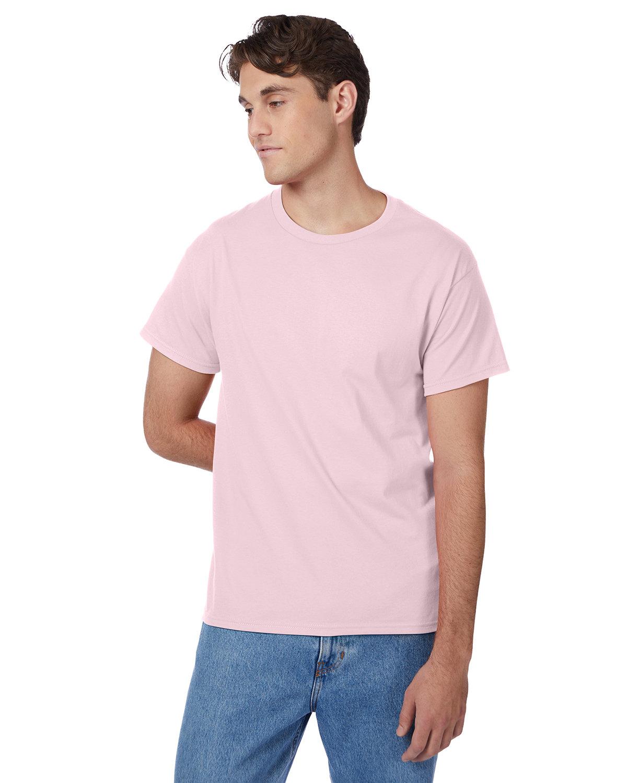 Hanes Men's Authentic-T T-Shirt PALE PINK