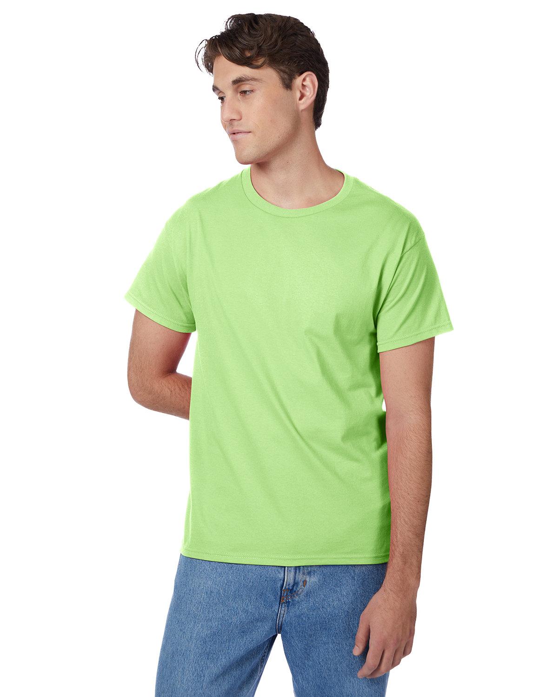 Hanes Men's Authentic-T T-Shirt LIME