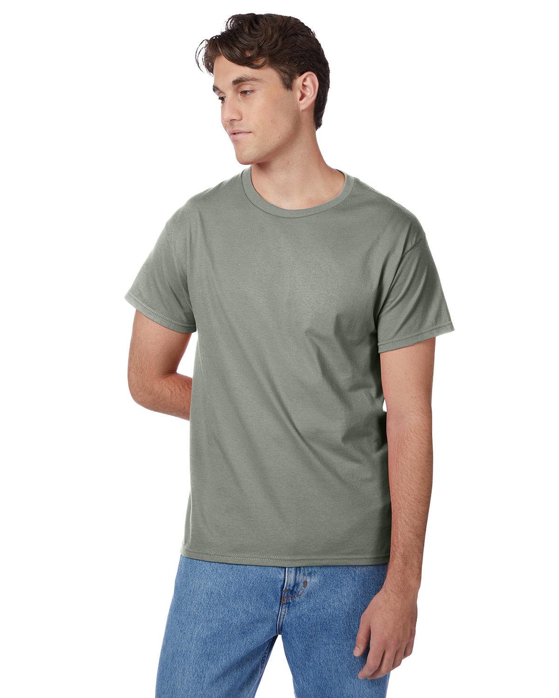 Hanes Men's Authentic-T T-Shirt STONEWASH GREEN