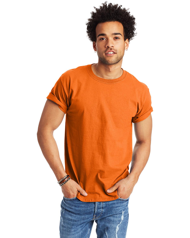 Hanes Men's Authentic-T T-Shirt ATHLETIC ORANGE