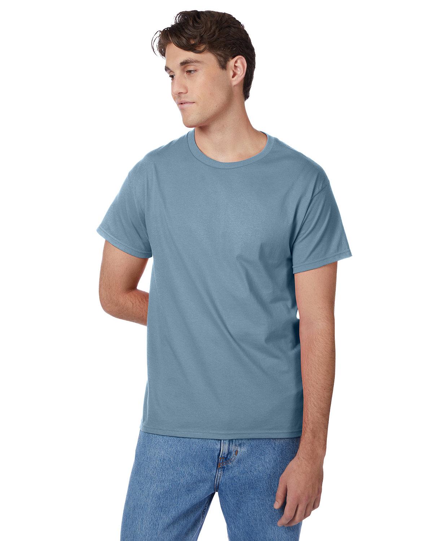 Hanes Men's Authentic-T T-Shirt STONEWASHED BLUE