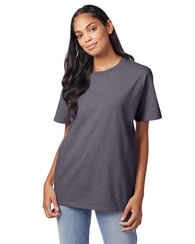 Hanes Men's Authentic-T T-Shirt CHARCOAL HEATHER
