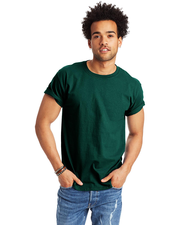 Hanes Men's Authentic-T T-Shirt DEEP FOREST