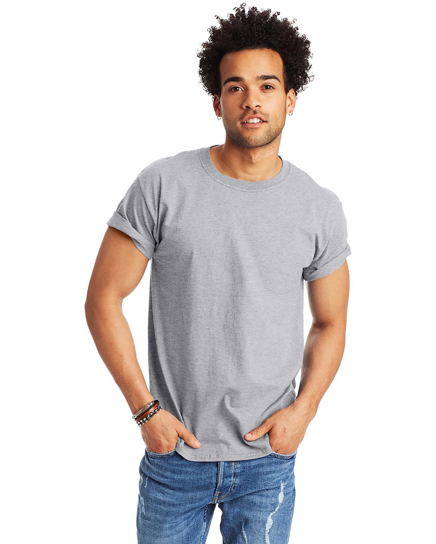 Hanes Men's Authentic-T T-Shirt LIGHT STEEL