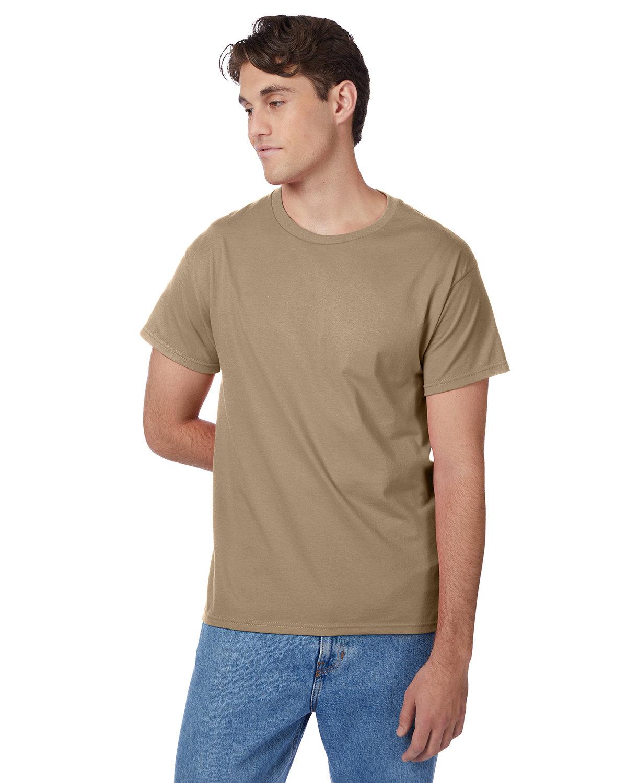 Hanes Men's Authentic-T T-Shirt PEBBLE