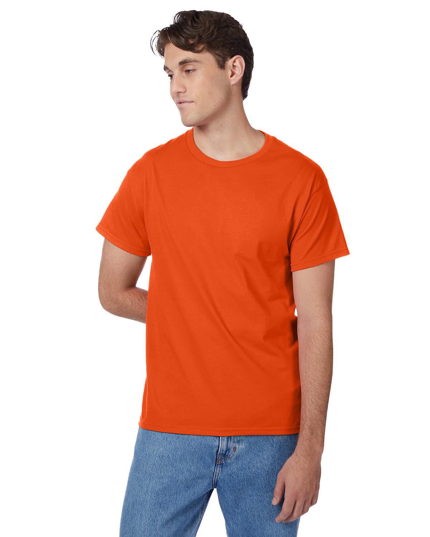 Hanes Men's Authentic-T T-Shirt ORANGE