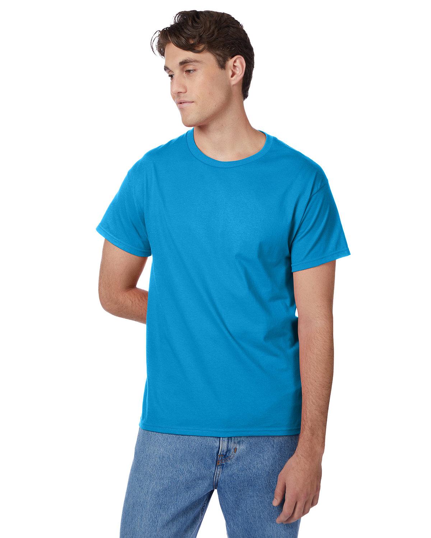 Hanes Men's Authentic-T T-Shirt TEAL