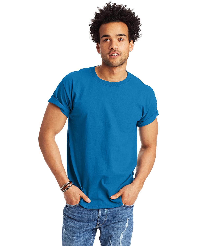Hanes Men's Authentic-T T-Shirt SAPPHIRE