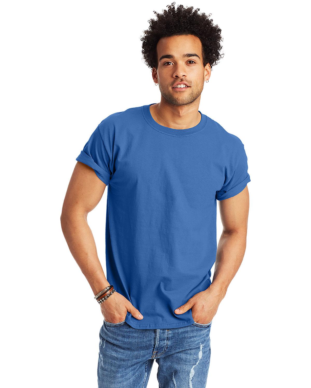 Hanes Men's Authentic-T T-Shirt PALACE BLUE