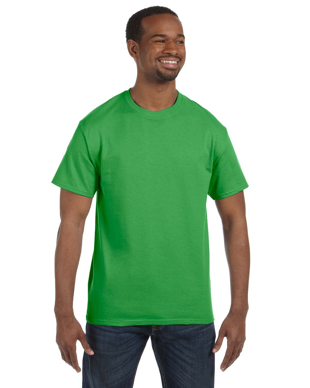 Hanes Men's Authentic-T T-Shirt SHAMROCK GREEN