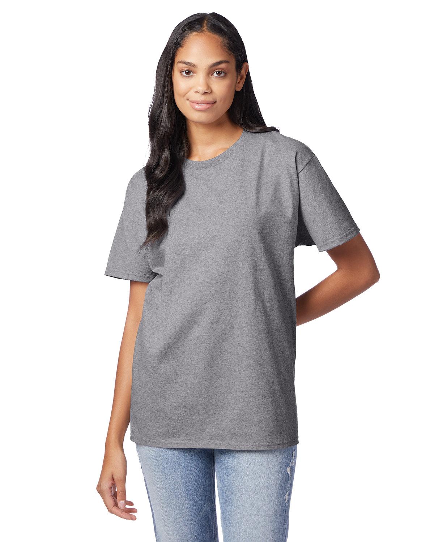 Hanes Men's Authentic-T T-Shirt OXFORD GRAY