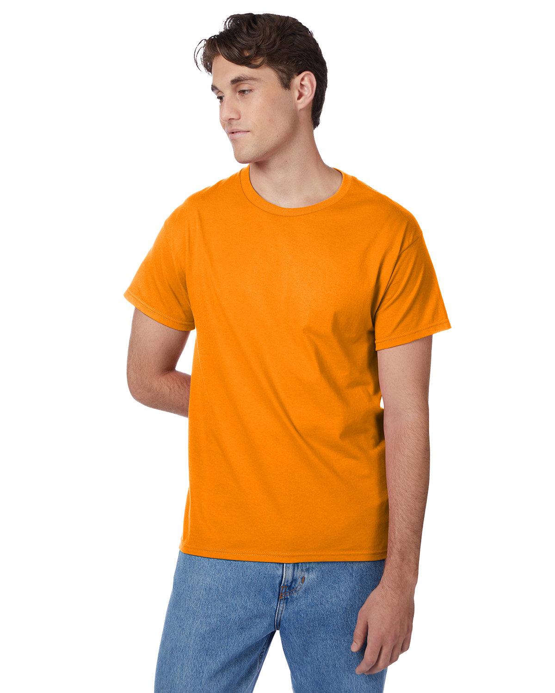 Hanes Men's Authentic-T T-Shirt SAFETY ORANGE