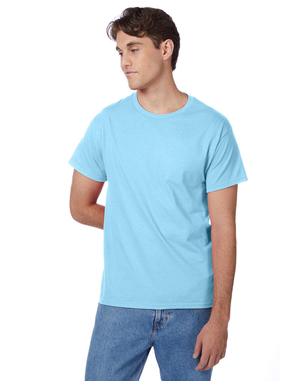 Hanes Men's Authentic-T T-Shirt AQUATIC BLUE