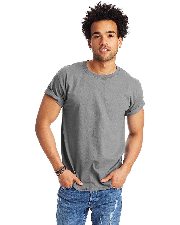 Hanes Men's Authentic-T T-Shirt VINTAGE GRAY