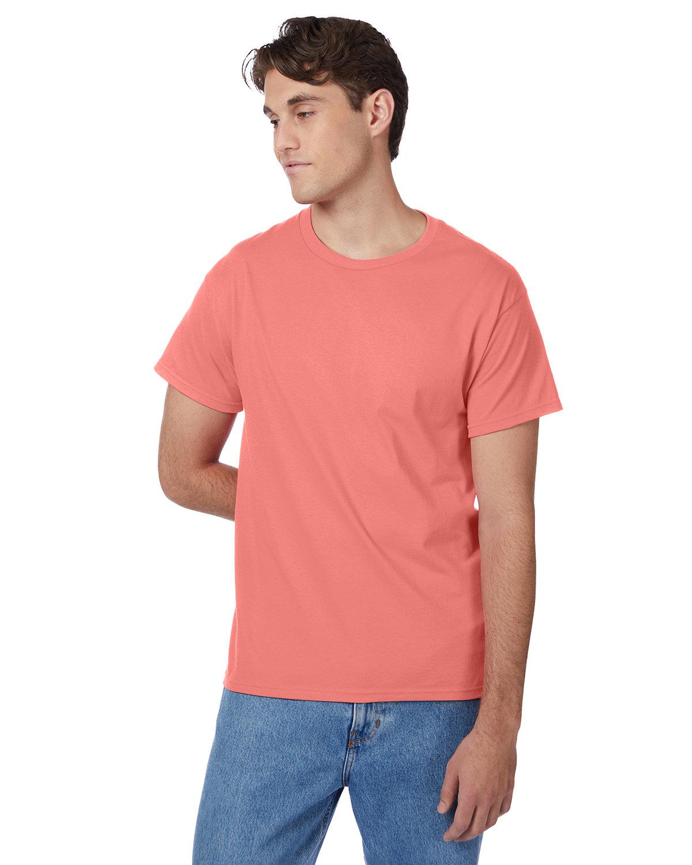 Hanes Men's Authentic-T T-Shirt CHARISMA CORAL