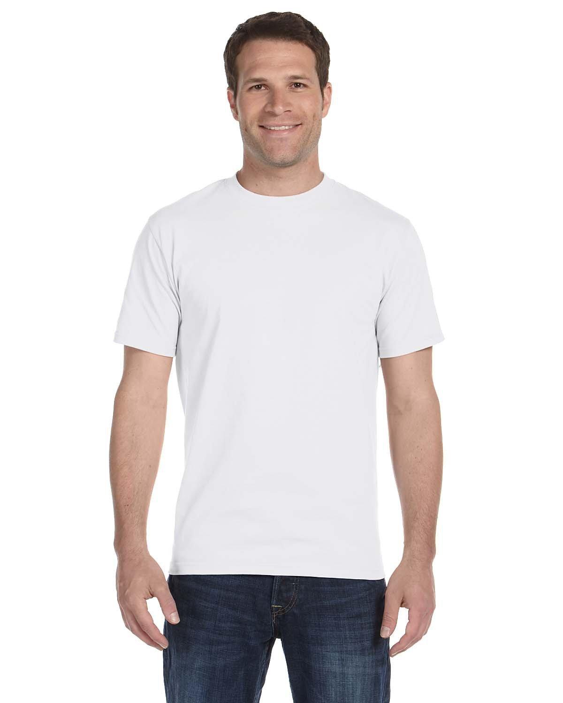 Hanes Unisex Comfortsoft® Cotton T-Shirt WHITE