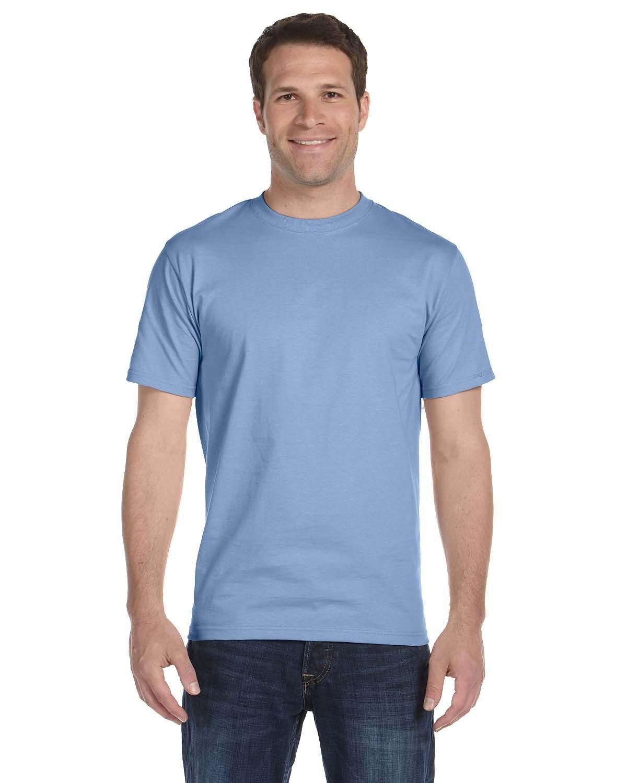 Hanes Unisex Comfortsoft® Cotton T-Shirt LIGHT BLUE