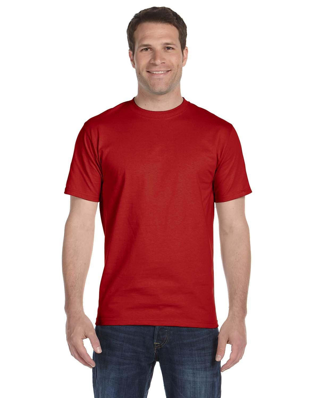 Hanes Unisex Comfortsoft® Cotton T-Shirt DEEP RED