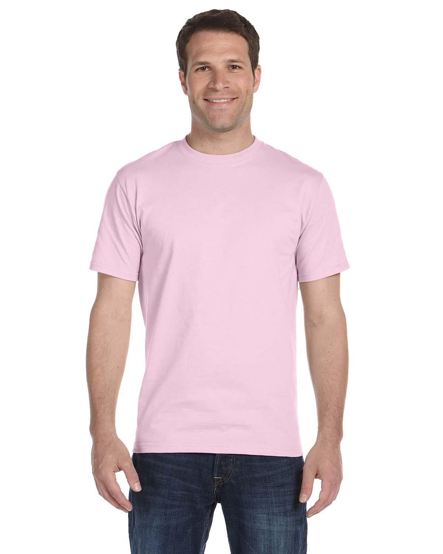 Hanes Unisex Comfortsoft® Cotton T-Shirt PALE PINK