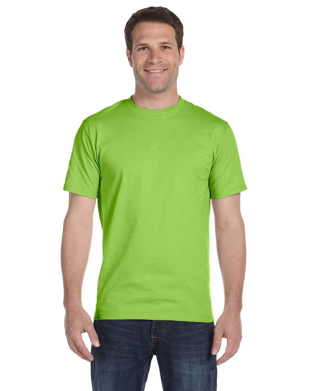 Hanes Unisex Comfortsoft® Cotton T-Shirt LIME