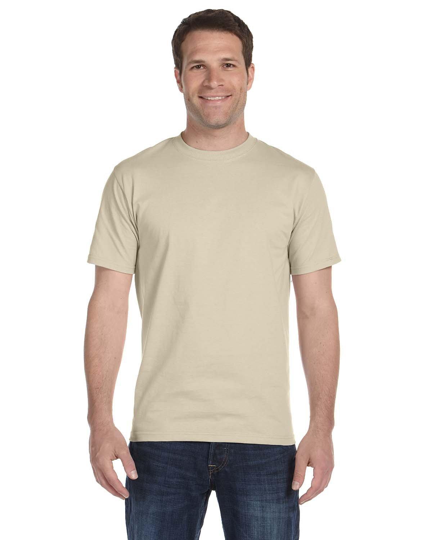 Hanes Unisex Comfortsoft® Cotton T-Shirt SAND