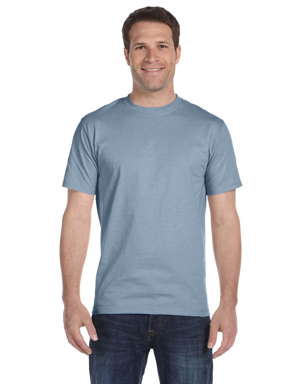 Hanes Unisex Comfortsoft® Cotton T-Shirt STONEWASHED BLUE