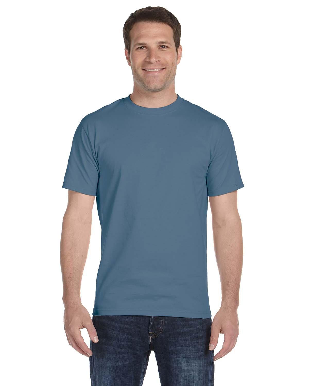 Hanes Unisex Comfortsoft® Cotton T-Shirt DENIM BLUE