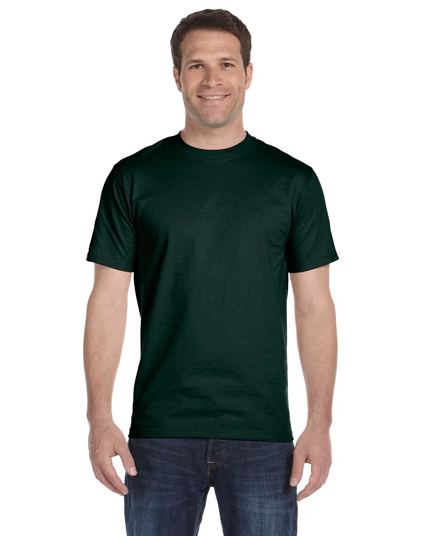 Hanes Unisex Comfortsoft® Cotton T-Shirt DEEP FOREST