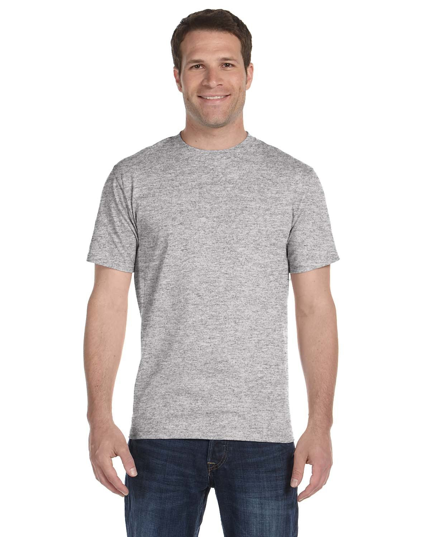 Hanes Unisex Comfortsoft® Cotton T-Shirt LIGHT STEEL