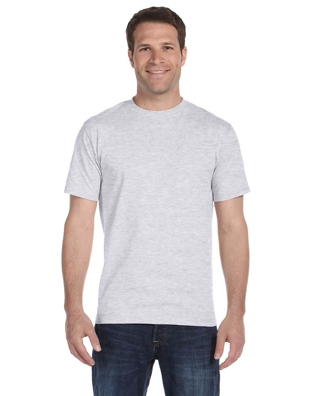 Hanes Unisex Comfortsoft® Cotton T-Shirt ASH