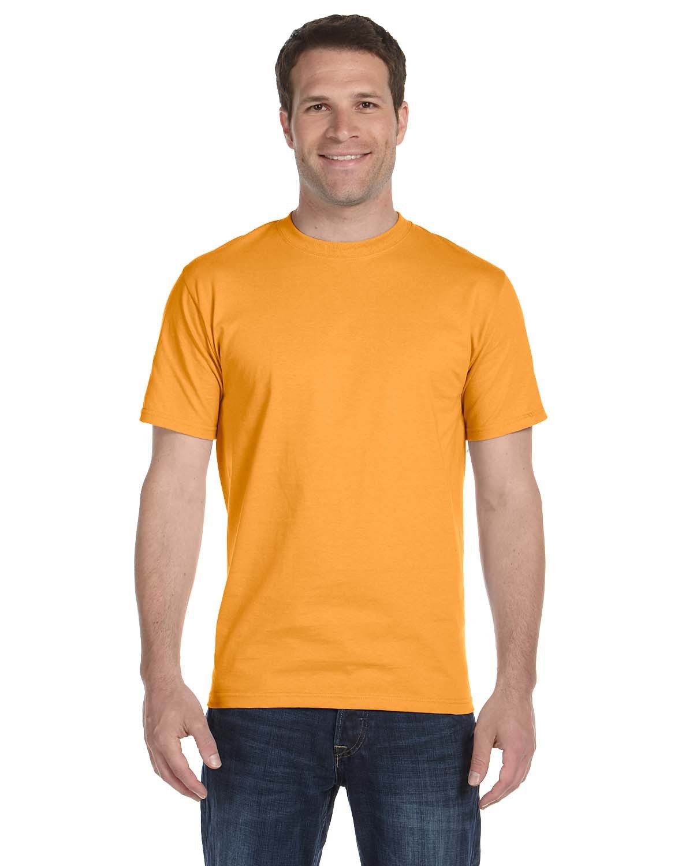 Hanes Unisex Comfortsoft® Cotton T-Shirt GOLD