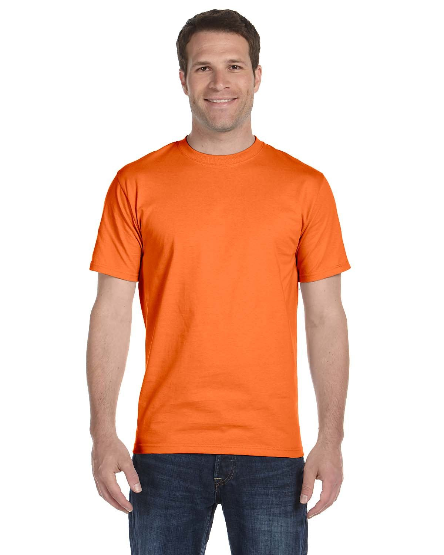 Hanes Unisex Comfortsoft® Cotton T-Shirt ORANGE