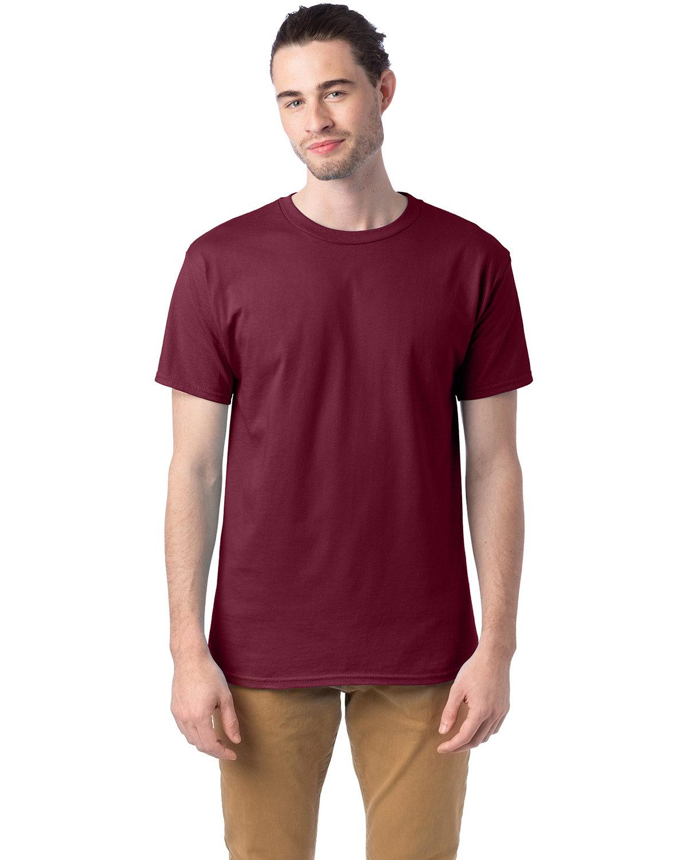 Hanes Unisex Comfortsoft® Cotton T-Shirt MAROON