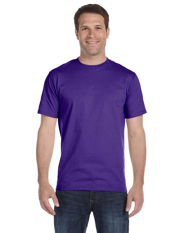 Hanes Unisex Comfortsoft® Cotton T-Shirt PURPLE