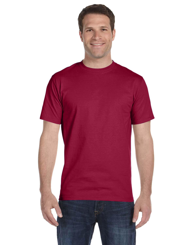 Hanes Unisex Comfortsoft® Cotton T-Shirt CARDINAL