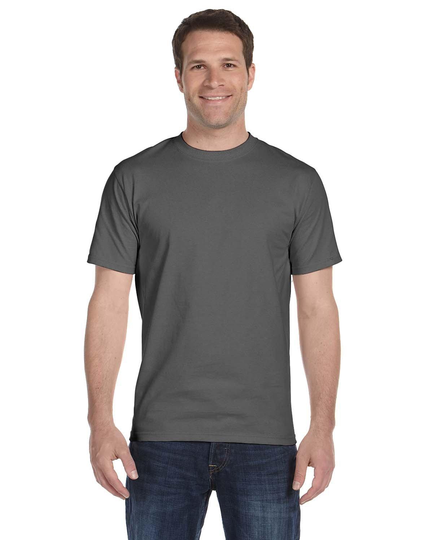 Hanes Unisex Comfortsoft® Cotton T-Shirt SMOKE GRAY