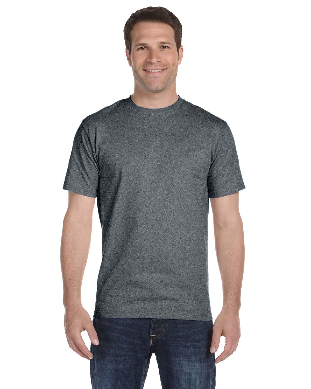 Hanes Unisex Comfortsoft® Cotton T-Shirt OXFORD GRAY
