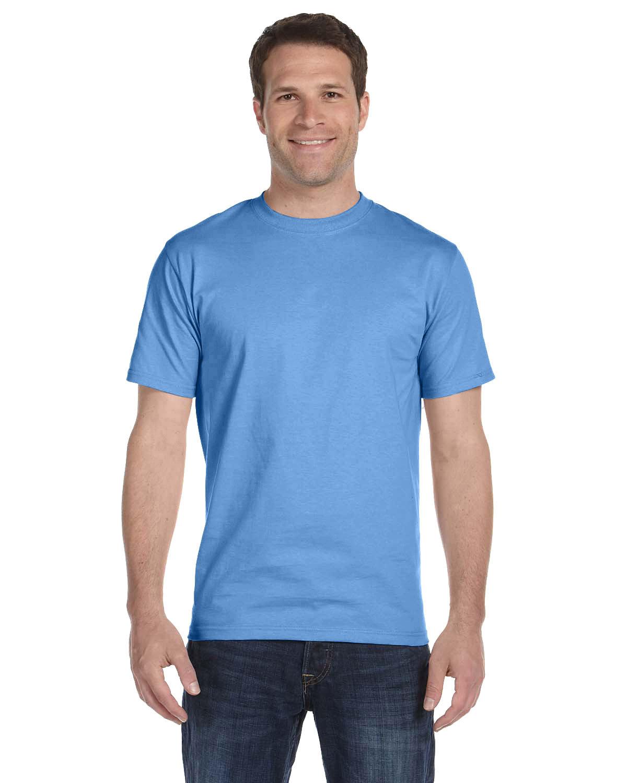 Hanes Unisex Comfortsoft® Cotton T-Shirt AQUATIC BLUE