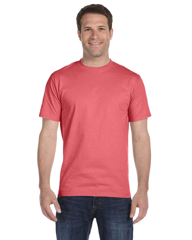 Hanes Unisex Comfortsoft® Cotton T-Shirt CHARISMA CORAL