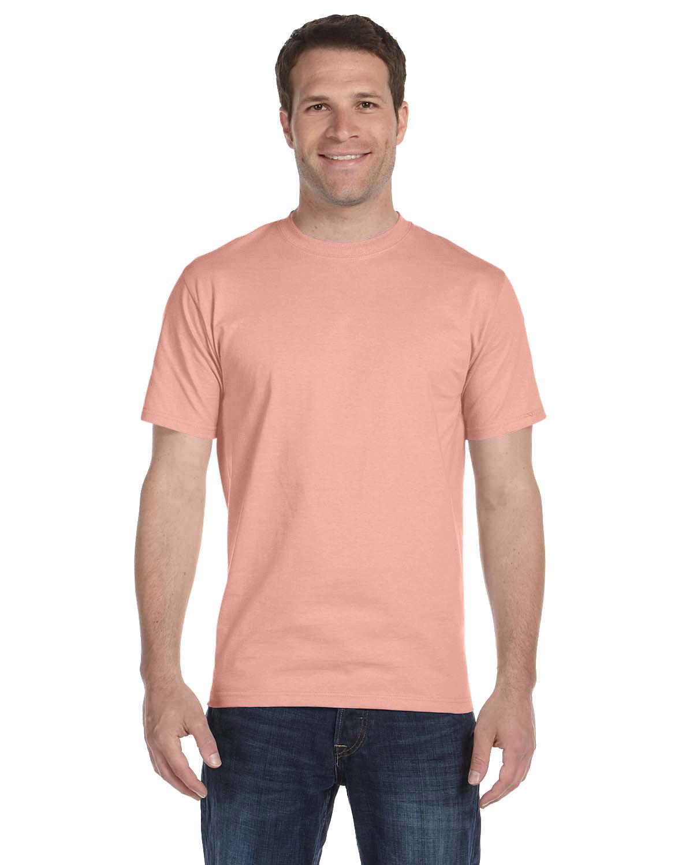 Hanes Unisex Comfortsoft® Cotton T-Shirt CANDY ORANGE