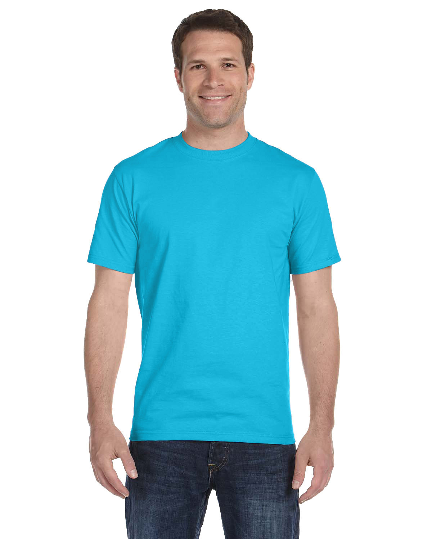 Hanes Unisex Comfortsoft® Cotton T-Shirt BLUE HORIZON