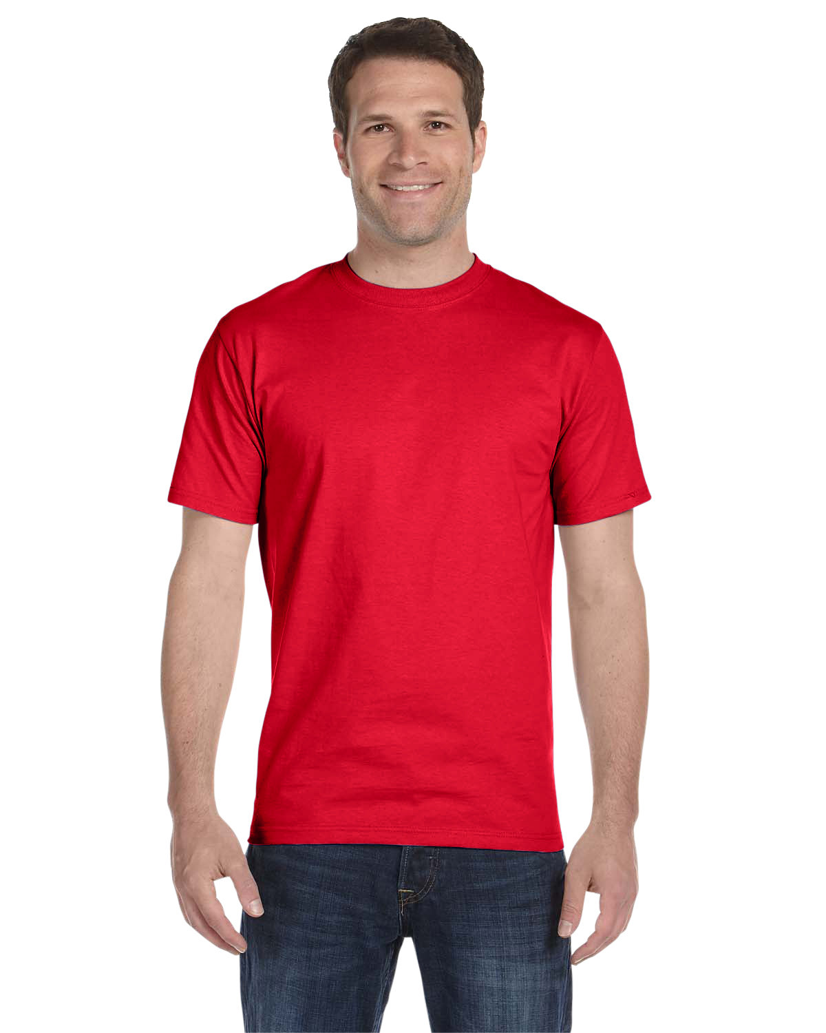 Hanes Unisex Comfortsoft® Cotton T-Shirt ATHLETIC RED