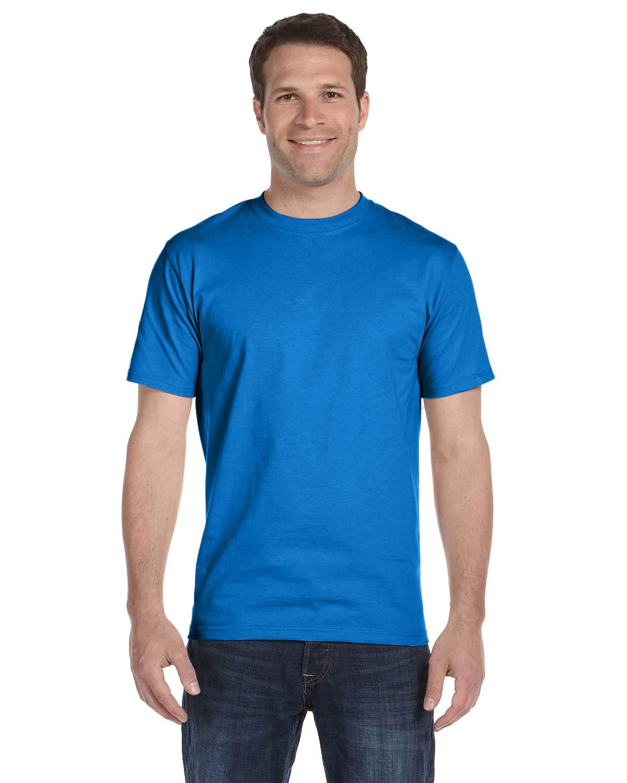 Hanes Unisex Comfortsoft® Cotton T-Shirt BLUEBELL BREEZE