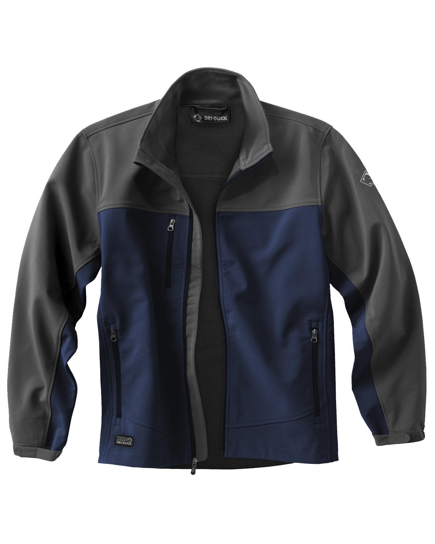 Dri Duck Men's Poly Spandex Motion Softshell Jacket DEEP BLUE