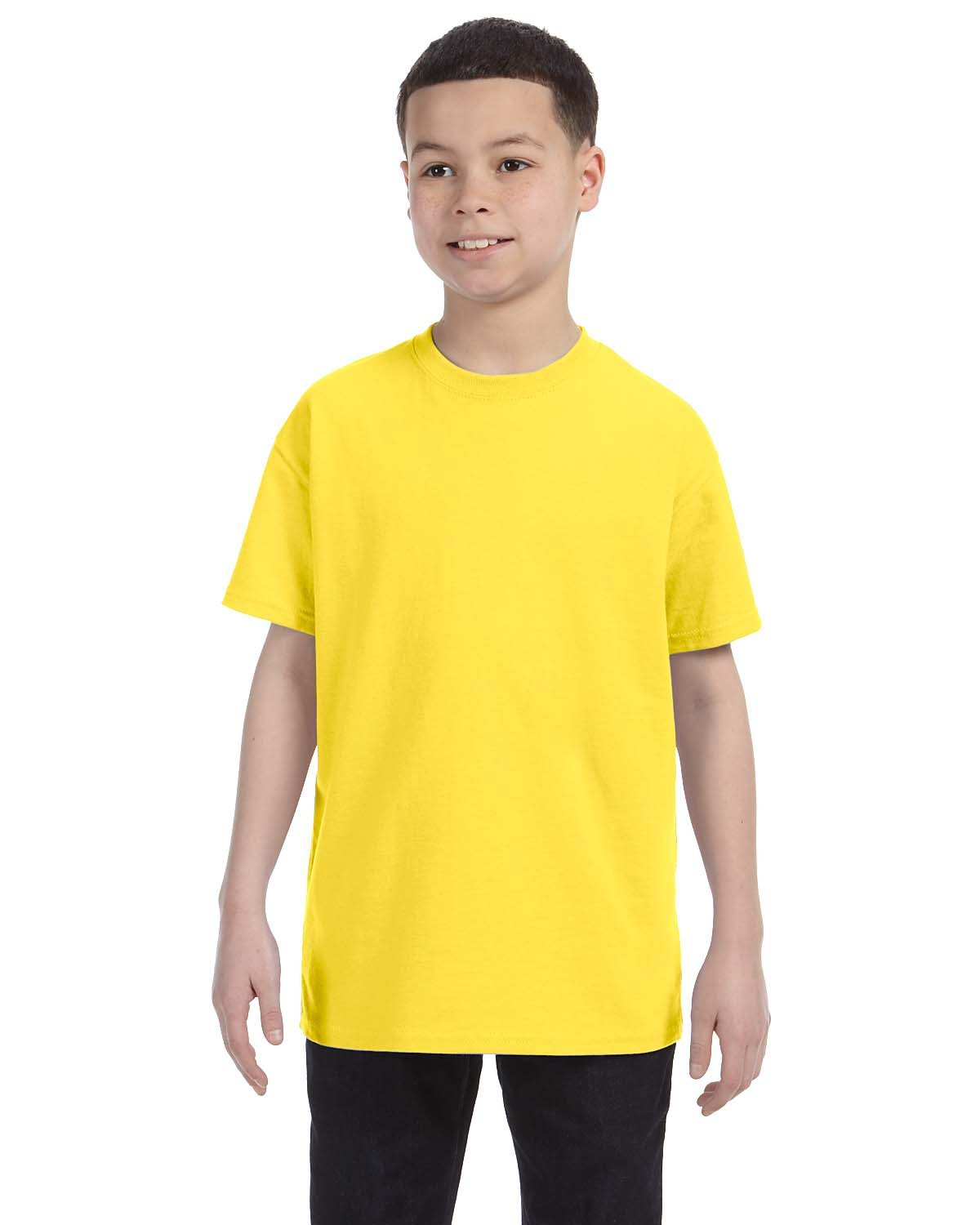 Hanes Youth Authentic-T T-Shirt YELLOW