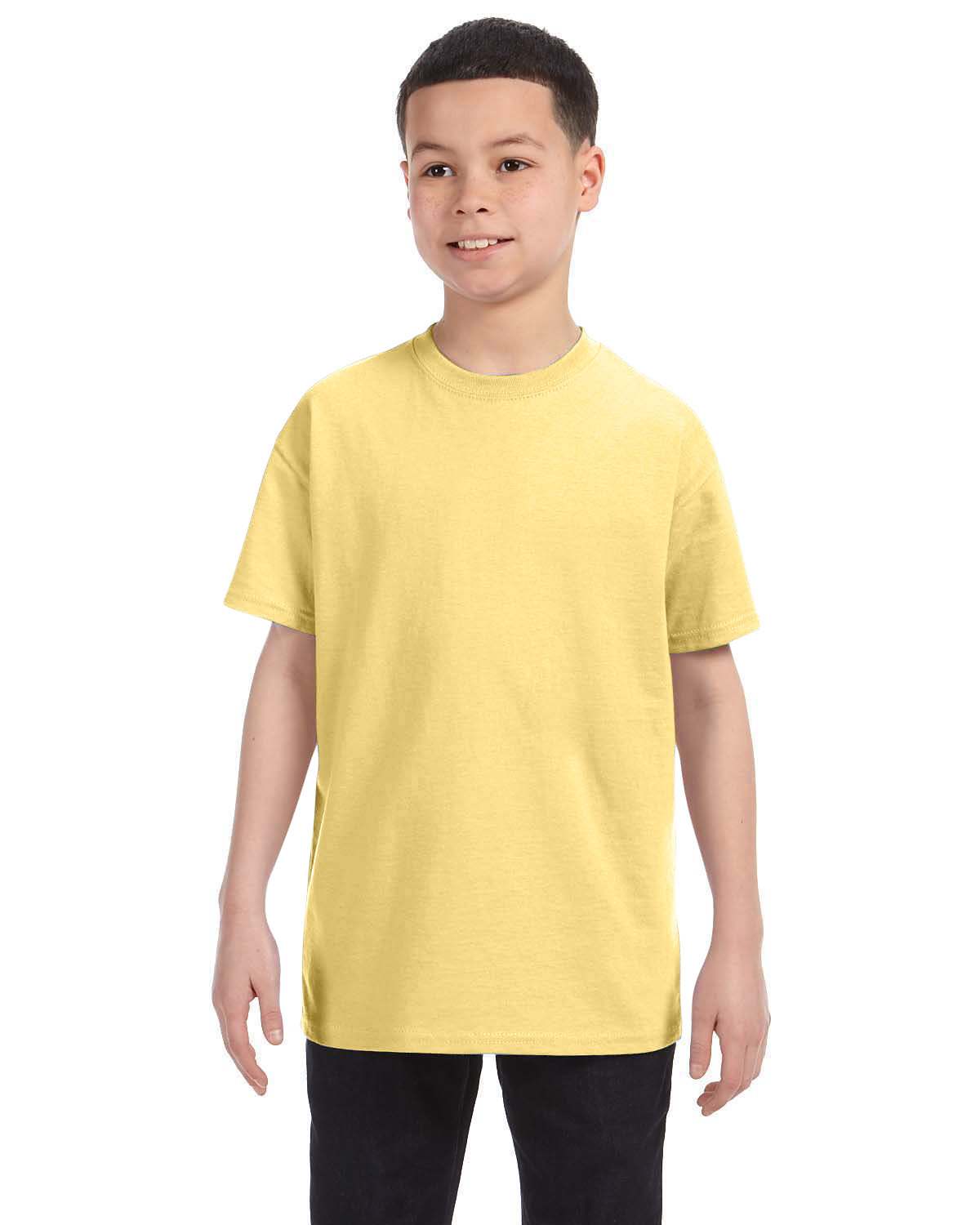 Hanes Youth Authentic-T T-Shirt DAFFODIL YELLOW