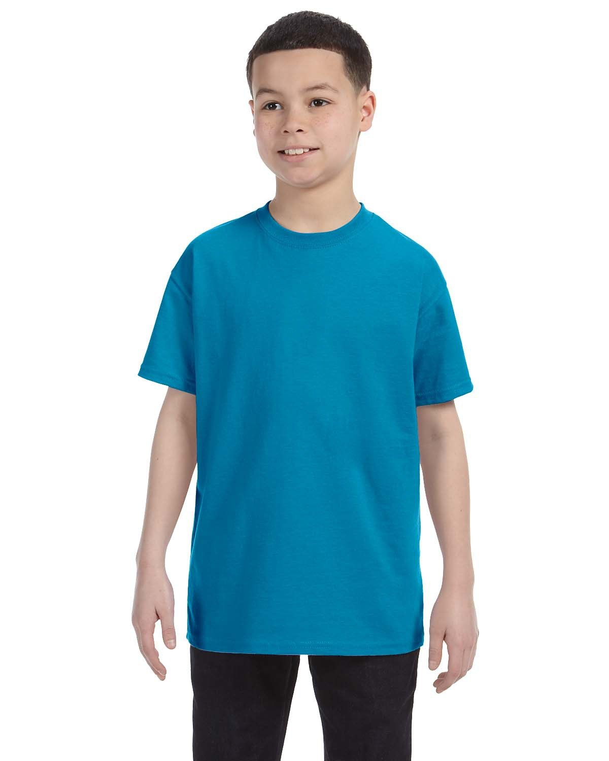 Hanes Youth Authentic-T T-Shirt TEAL